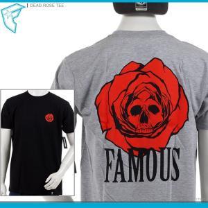 50%OFF FAMOUS STARS&STRAPS 半袖Tシャツ フェイマス Tシャツ DEAD ROSE TEE セール|angelitta