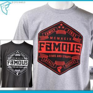 50%OFF FAMOUS STARS&STRAPS Tシャツ CITO SHIELD フェイマス 半袖Tシャツ セール|angelitta