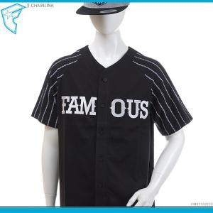 50%OFF FAMOUS STARS&STRAPS フェイマス famous ベースボールシャツ CHAINLINK トップス セール|angelitta