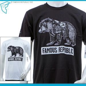 FAMOUS STARS&STRAPS FAMOUS Tシャツ FAMOUS REPUBLIC TEE famous トップス フェイマス 半袖Tシャツ ストリート/|angelitta
