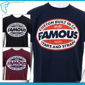 FAMOUS STARS&STRAPS 半袖Tシャツ RACEWAY TEE フェイマス 半袖Tシャツ|angelitta