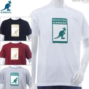 KANGOL Tシャツ カンゴール 半袖Tシャツ VERTICAL BOX TEE ストリート|angelitta