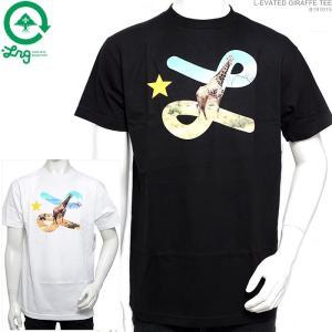 LRG Tシャツ エルアールジー 半袖Tシャツ L-EVATED GIRAFFE TEE|angelitta