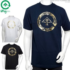 LRG Tシャツ エルアールジー 半袖Tシャツ GOLD CYCLE FLOURISH TEE|angelitta