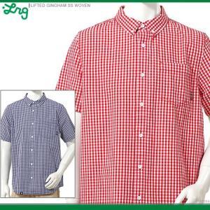 30%OFF LRG 半袖チェックシャツ エルアールジー ボタンダウンシャツ LIFTED GINGHAM SS WOVEN/|angelitta