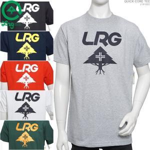 LRG Tシャツ エルアールジー 半袖Tシャツ QUICK CORE TEE|angelitta