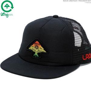 LRG キャップ スナップバック エルアールジー セール ROCK UNSTEDY TRUCKER HAT|angelitta