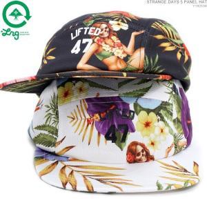 LRG キャップ ストラップバック エルアールジー セール STRANGE DAYS 5 PANEL HAT|angelitta