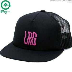 LRG キャップ スナップバック エルアールジー セール STRANGE DAYS TRUCKER HAT|angelitta