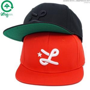 【入荷即50%OFFセール】LRG キャップ スナップバック セール エルアールジー DOWN WITH L SNAPBACK HAT 帽子|angelitta