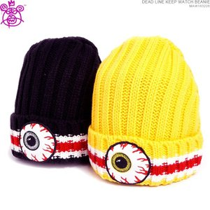 ミシカ 50%OFFセール  ニットキャップ MISHKA ビーニー DEAD LINE KEEP WATCH BEANIE|angelitta