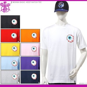 MISHKA Tシャツ ミシカ 半袖Tシャツ MISHKA BASIC: KEEP WATCH TEE|angelitta