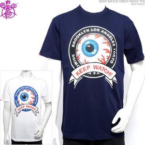 ミシカ 半袖Tシャツ MISHKA Tシャツ KEEP WATCH CREST ROGO TEE ストリート|angelitta