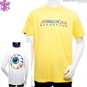 MISHKA Tシャツ ミシカ 半袖TシャツRAINBOW KEEP WATCH TEE|angelitta
