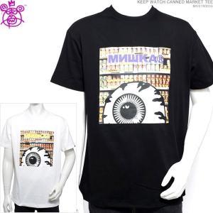 ミシカ 半袖Tシャツ MISHKA Tシャツ KEEP WATCH CANNED MARKET TEE ストリート|angelitta