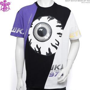 ミシカ 半袖Tシャツ MISHKA Tシャツ KEEP WATCH MASH-UP TEE ストリート angelitta