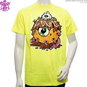 MISHKA Tシャツ ミシカ 半袖Tシャツ OSAKA KEEP WATCH TEE|angelitta
