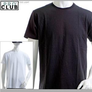 PRO CLUB Tシャツ プロクラブ 半袖Tシャツ TEE LIGHT|angelitta