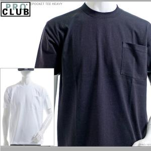 PRO CLUB Tシャツ プロクラブ 半袖Tシャツ POCKET TEE HEAVY|angelitta