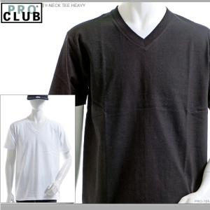 PRO CLUB Tシャツ プロクラブ 半袖Tシャツ V-NECK TEE HEAVY|angelitta