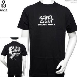 REBEL8 半袖Tシャツ レベルエイト WRECKERS TEE|angelitta