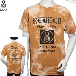 REBEL8 半袖Tシャツ レベルエイト BLOTTER TEE|angelitta