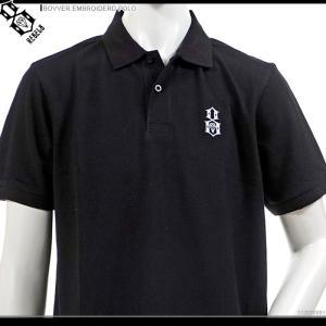 REBEL8 ポロシャツ レベルエイト 半額セール 半袖ポロシャツ BOVVER EMBROIDERD POLO|angelitta