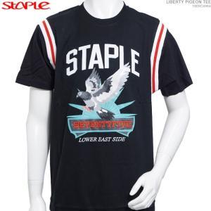 STAPLE Tシャツ ステイプル 半額セール 半袖Tシャツ LIBERTY PIGEON TEE|angelitta
