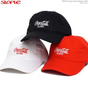 STAPLE キャップ ステイプル コカコーラ セール ストラップバック STPLE×Coca Cola Classic CAP|angelitta