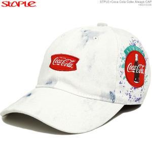 STAPLE キャップ ステイプル コカコーラ セール ストラップバック STPLE×Coca Cola Coke Always CAP|angelitta