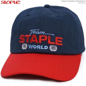STAPLE キャップ ステイプル セール ストラップバック GRAN TURISMO STRAPBACK|angelitta