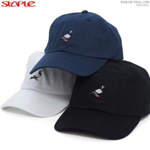 STAPLE キャップ ステイプル セール ストラップバック PIGEON TWILL CAP|angelitta