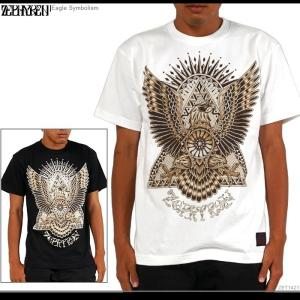 ZEPHYREN(ゼファレン) Tシャツ Eagle Symbolism zephyren tシャツ メンズ|angelitta