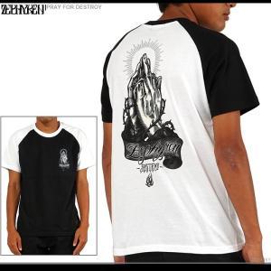 ZEPHYREN(ゼファレン) Tシャツ PRAY FOR DESTROY zephyren tシャツ メンズ|angelitta