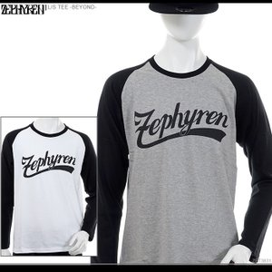 ZEPHYREN 長袖Tシャツ ゼファレン L S TEE -BEYOND- zephyren Tシャツ ZEPHYREN ゼファレン ロンT バンド メンズ ストリート|angelitta