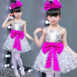 ダンス衣装 キッズ KIDS ダンス 衣装 スパンコール DANCE ダンスヒップホップ