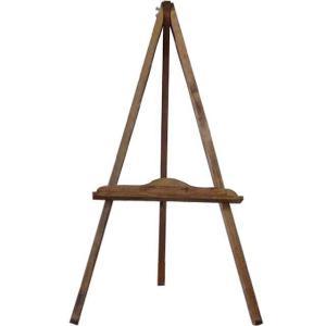 アンティークブラウン 木製イーゼル メニュースタンド 受注製作|angelsdust