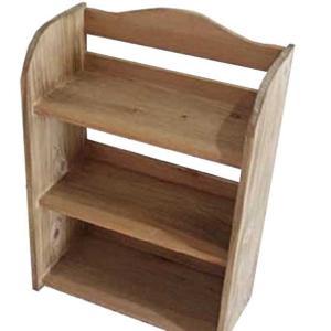 スパイスラック 木製ひのき アンティーク調家具 シンプル 三段 調味料棚 キッチンラック 収納棚 アンティークブラウン 受注製作|angelsdust