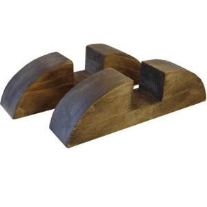 アンティークブラウン 大きなフレームスタンド2個セット直立タイプ(ガラスフレーム・黒板・木製ボード・ステンドグラス脚)受注製作|angelsdust