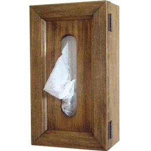 アンティークブラウン 壁掛けティッシュボックス ティッシュケース カバー 受注製作 angelsdust