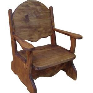 子供用椅子 アンティークブラウン w34d29h42cm チャイルドチェア 木製 ひのき 受注製作|angelsdust