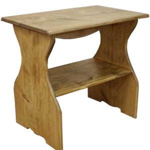 シェルフ 置き型  w40d25h36cm  アンティークブラウン 下段収納 木製 ひのき 受注製作|angelsdust