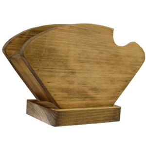 コーヒーフィルターケース ペーパーケース w18d8h12cm アンティークブラウン シンプル コーヒーペーパーケース 木製 ひのき 受注製作|angelsdust