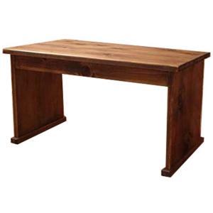 机 昭和レトロ 文机 アンティークブラウン w65d33h35cm ローテーブル 木製 国産 ひのき 受注製作|angelsdust