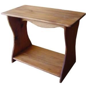 シェルフ ベンチタイプ アンティークブラウン w46d25h36cm 置き型 ミニサイズ 木製 ひのき  ハンドメイド 受注製作|angelsdust