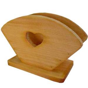 コーヒーフィルターケース ハートくり抜き w18d8h12cm ナチュラル コーヒーペーパーケース 木製 ひのき 受注製作|angelsdust