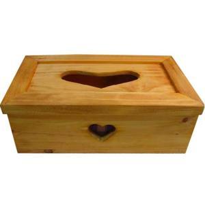 ナチュラル 木製ハートのティッシュボックス(ブルー) ティッシュケース カバー 受注製作 angelsdust
