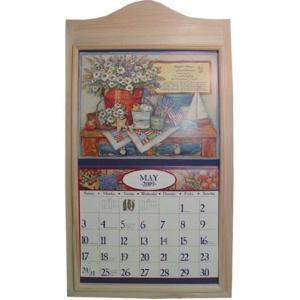 無塗装白木 木製カレンダーフレーム 受注製作|angelsdust