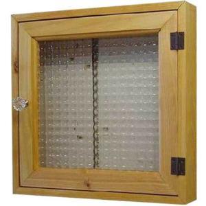 フランス製チェッカーガラスのインターホンカバー パンプキンノブ・ マグネット仕様(30×6×30cm) (ナチュラル) 受注製作|angelsdust