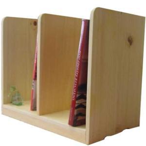 木製ブックスタンド(幅40センチ)本棚 (ライトオーク) 受注製作|angelsdust